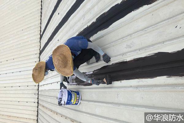 针对金属屋面漏水原因广州防水多年经验师傅来分析
