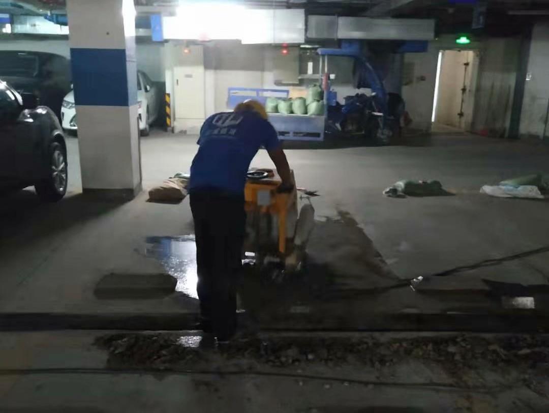 白云区深业.江悦湾地下室防水工程