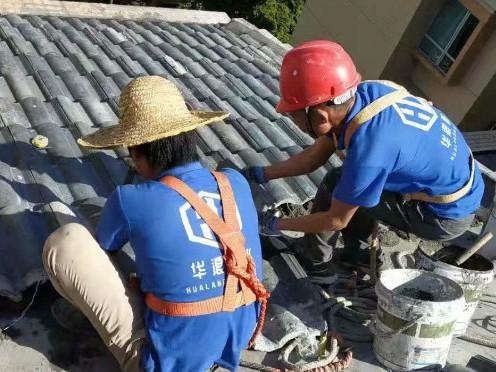 屋面防水_广州花都区雅居乐雍华庭25栋屋顶防水堵漏工程