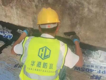屋顶防水堵漏_广州天河区德欣小区屋顶防水堵漏工程